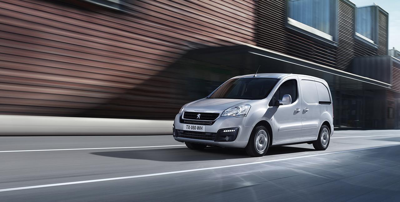 Peugeot Partner Van cover 1
